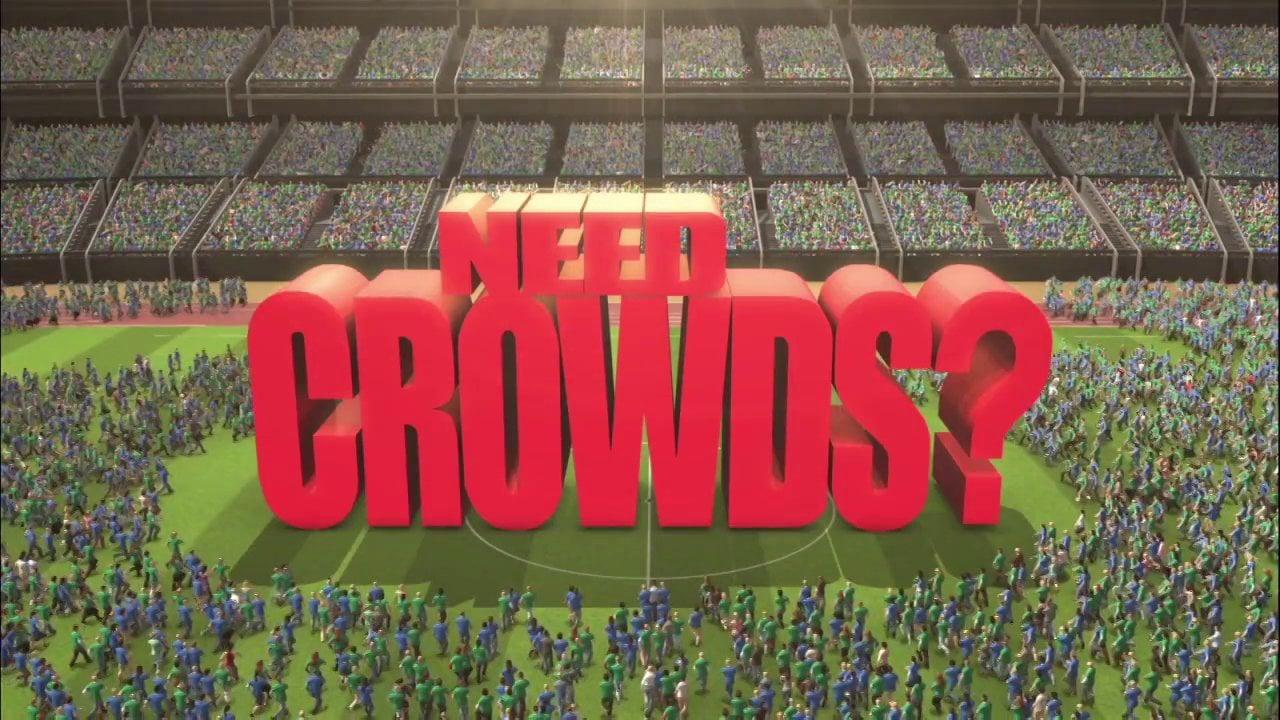 Need Crowds? No Problem!