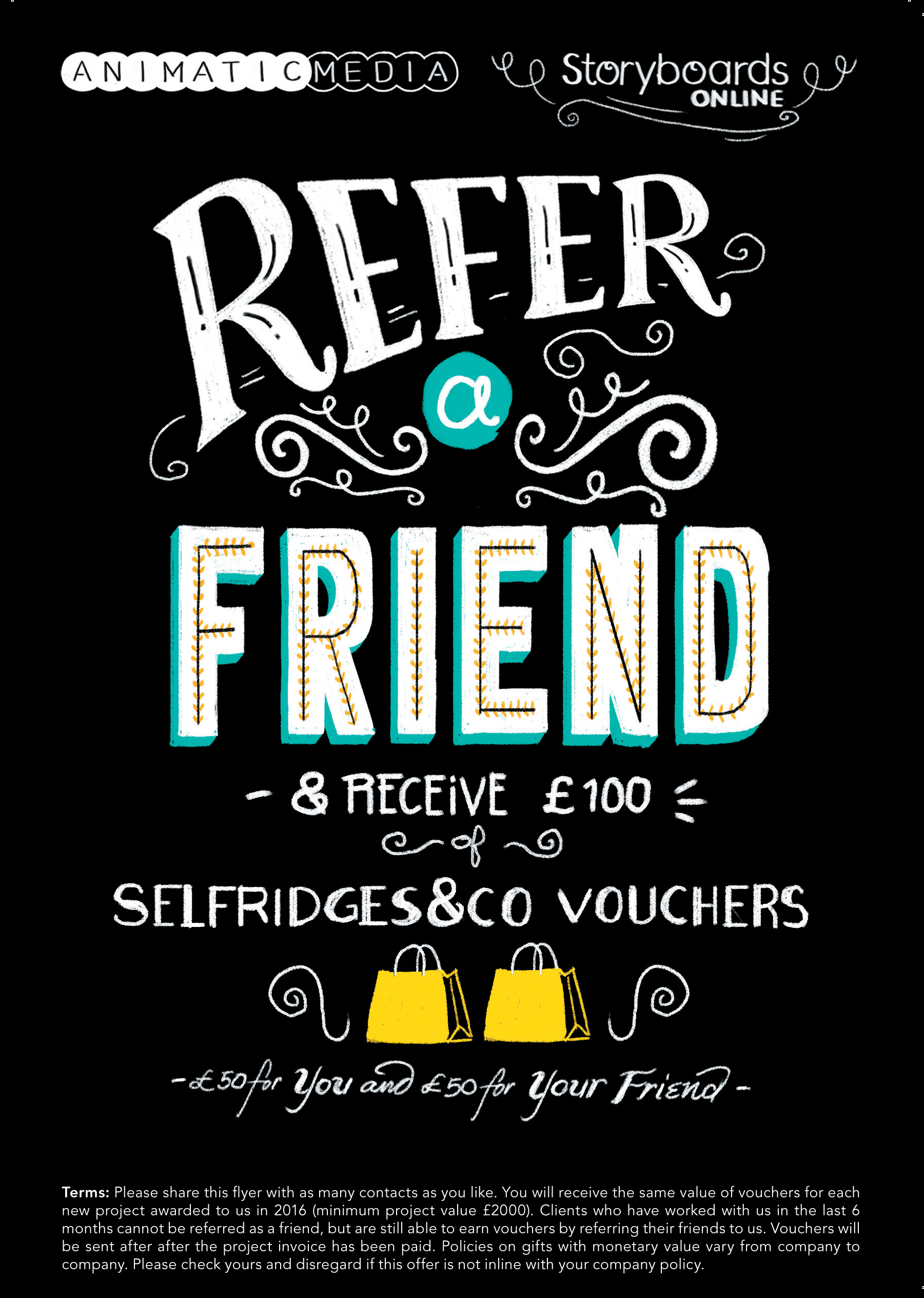 UK Clients! Why Not Refer A Friend?