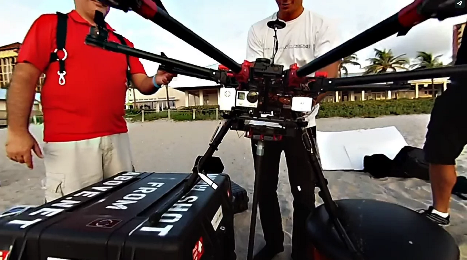 Behind the project - 360°Aerial shoot